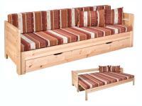 Vanessa kihúzható ágy, Kategória:Kanapék, Szélesség:80cm Hosszúság:200cm Magasság:cm