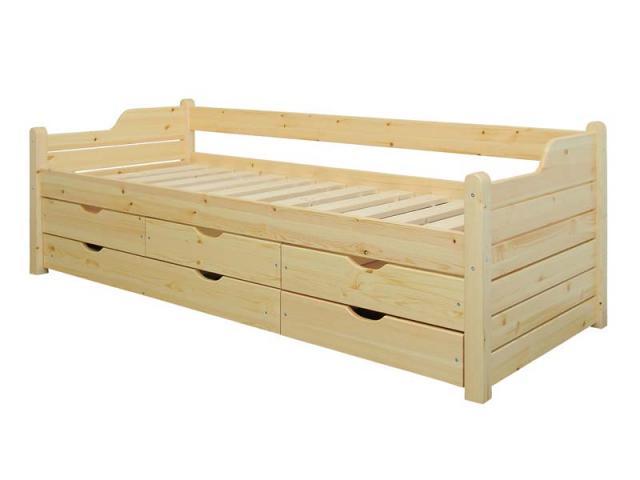 Claudia 5 fiókos ágykeret, Kategória:Kanapék, Szélesség:80cm Hosszúság:200cm Magasság:cm